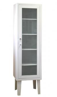 Косметологический шкаф медицинский одностворчатый ШМ 1-1