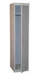 Шкаф металлический  одностворчатый для одежды ШРС-11(400)