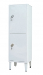 Шкаф медицинский металлический с сейфом для хранения ШС-02