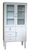 Косметологический шкаф медицинский для инструментов ШМ 2-2Я
