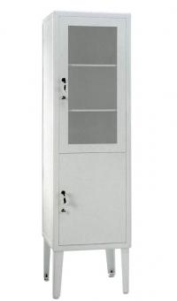 Косметологический шкаф медицинский одностворчатый ШМ 1-2В