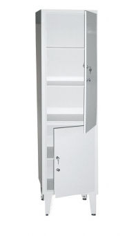 Косметологический шкаф медицинский одностворчатый ШМ 1-2ВМ