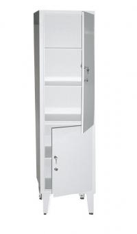 Косметологический шкаф медицинский одностворчатый ШМ 1-2М