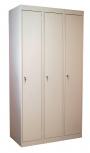 Шкаф трехсекционный металлический  для одежды ШРС-13(400)